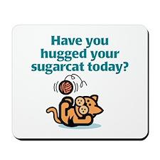Sugarcat Hug Mousepad