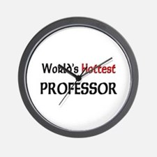 World's Hottest Professor Wall Clock