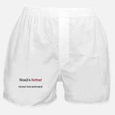 World's Hottest Production Supervisor Boxer Shorts