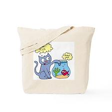 Mmm fish Tote Bag
