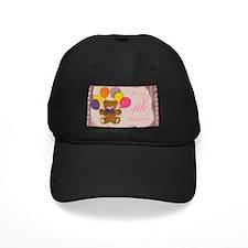 Girl 4th Birthday Baseball Hat