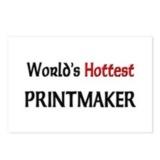 World's Hottest Printmaker Postcards (Package of 8