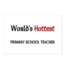 World's Hottest Primary School Teacher Postcards (