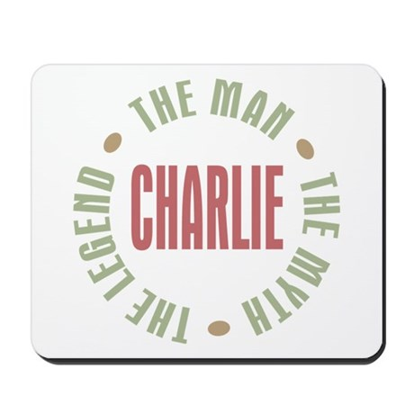 Charlie Man Myth Legend Mousepad