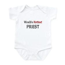 World's Hottest Priest Infant Bodysuit