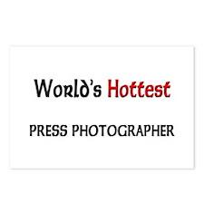 World's Hottest Press Photographer Postcards (Pack