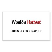 World's Hottest Press Photographer Decal