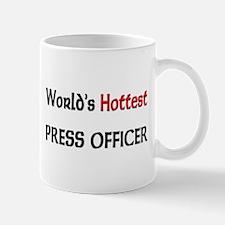 World's Hottest Press Officer Mug