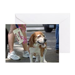 Beagles for Barack Greeting Cards (Pk of 20)