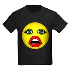 Girl Happy Face T