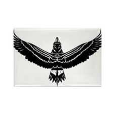 Funny Ravens Rectangle Magnet