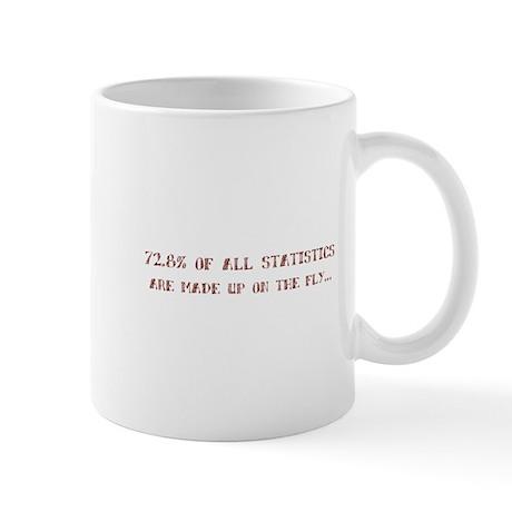 Stats on fly Mug