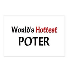 World's Hottest Poter Postcards (Package of 8)