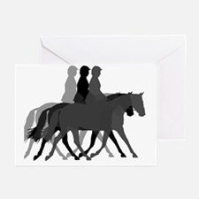 Dressage layers Greeting Cards (Pk of 20)