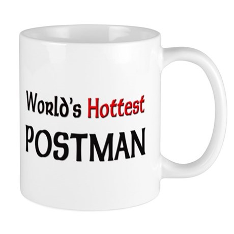 World's Hottest Postman Mug