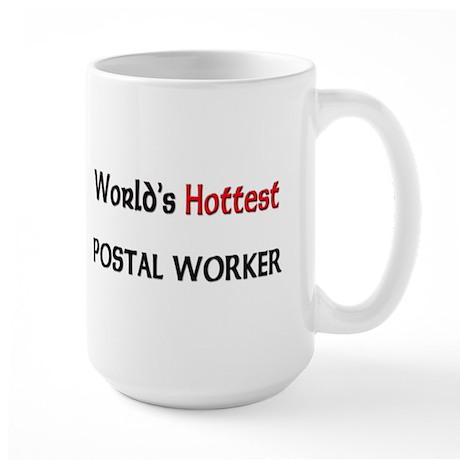 World's Hottest Postal Worker Large Mug
