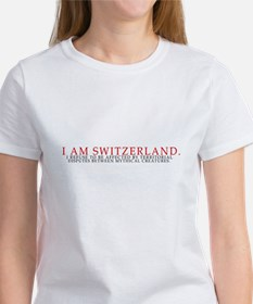 I Am Switzerland Women's T-Shirt