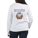 Foster Cat Women's Long Sleeve T-Shirt