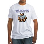 Foster Cat Fitted T-Shirt