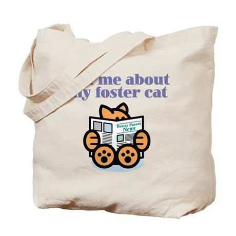 Foster Cat Tote Bag