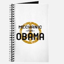Mechanic For Obama Journal