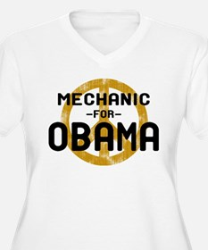 Mechanic For Obama T-Shirt