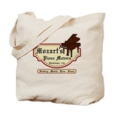 Mozart's Piano Movers Tote Bag
