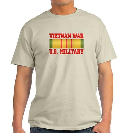 Vietnam War Service Ribbon Light T-Shirt