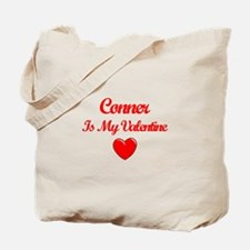 Conner Is My Valentine Tote Bag