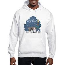 Let It Snow Maltese Hoodie