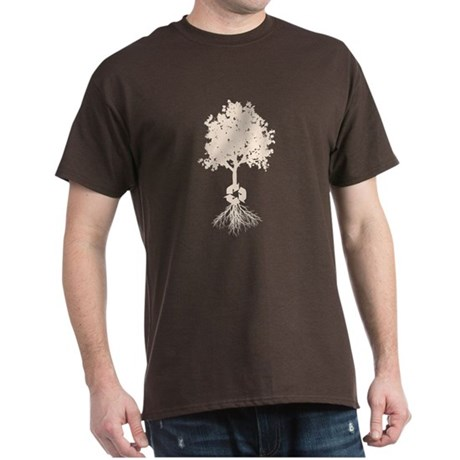 Tree Recycle Roots Dark T-Shirt
