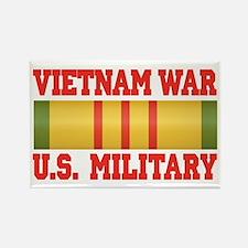 Vietnam War Service Ribbon Rectangle Magnet