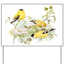 American Goldfinch Yard Sign