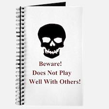 Beware Skull Journal