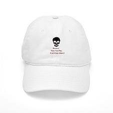 Beware Skull Baseball Cap