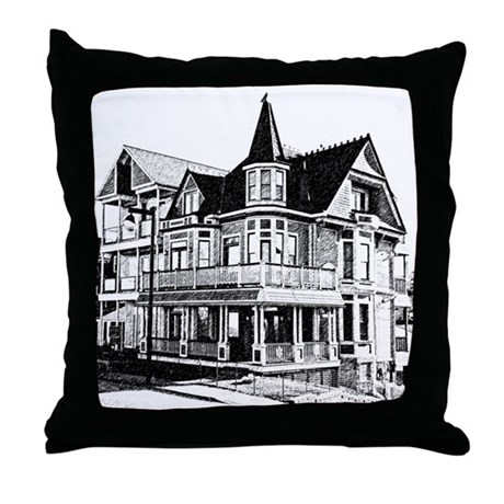 Grandview Victorian Throw Pillow