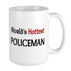 World's Hottest Policeman Mug