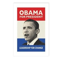 Obama JFK '60-Style Postcards (Package of 8)