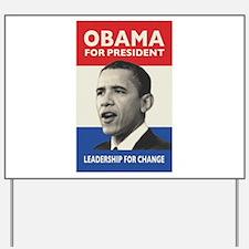 Obama JFK '60-Style Yard Sign