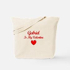 Gabriel Is My Valentine Tote Bag