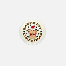 Baby's 1st Christmas Mini Button