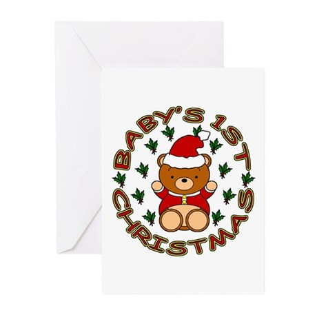 Baby's 1st Christmas Greeting Cards (Pk of 20)