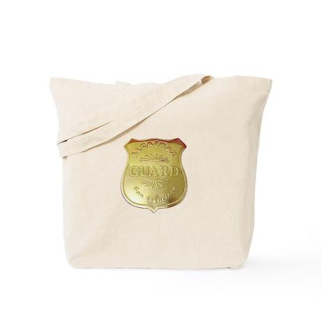 Alcatraz Guard Tote Bag