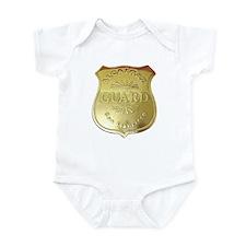 Alcatraz Guard Infant Bodysuit