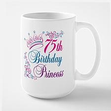 75th Birthday Princess Mug