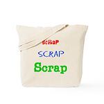 Scrapping Tote Bag