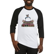 Bear and Books 3rd Grade Baseball Jersey