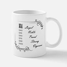 """""""The Dragon"""" Small Small Mug"""