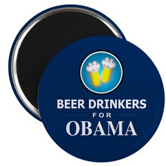 Beer Drinkers for Obama Magnet