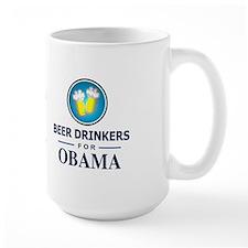Beer Drinkers for Obama Mug